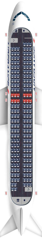 airbus-a320 seatmap