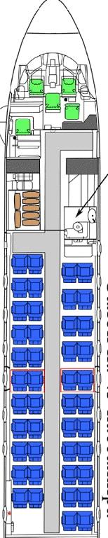 Antonov An-26 seat map